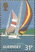 [The 100th Anniversary of the Guernsey Yacht Club, type SJ]