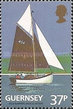 [The 100th Anniversary of the Guernsey Yacht Club, type SK]