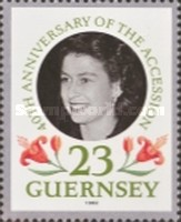 [The 40th Anniversary of Queen Elizabeth II Accession, type TL]