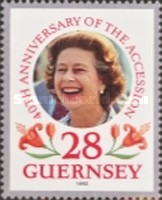 [The 40th Anniversary of Queen Elizabeth II Accession, type TM]
