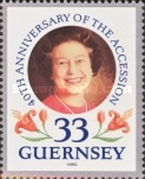 [The 40th Anniversary of Queen Elizabeth II Accession, type TN]
