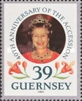 [The 40th Anniversary of Queen Elizabeth II Accession, type TO]