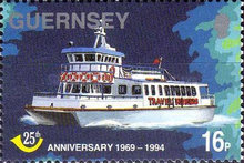 [The 25th Anniversary of Guernsey Post Office, Typ XA]
