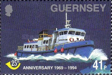 [The 25th Anniversary of Guernsey Post Office, Typ XD]