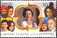 [EUROPA Stamps - Famous Women, type YV]