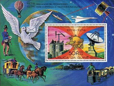 [Airmail - The 100th Anniversary of the Universal Postal Union, type ]
