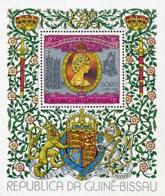 [Airmail - The 25th Anniversary of Regency of Queen Elizabeth II, type ]
