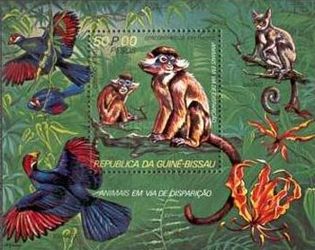 [Airmail - Endangered Animals, type ]