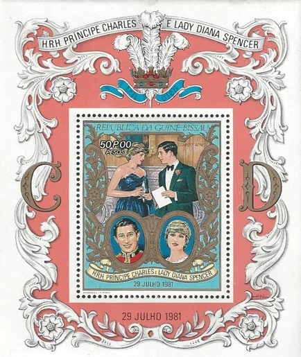 [Airmail - Royal Wedding of Prince Charles and Lady Diana Spencer, type ]