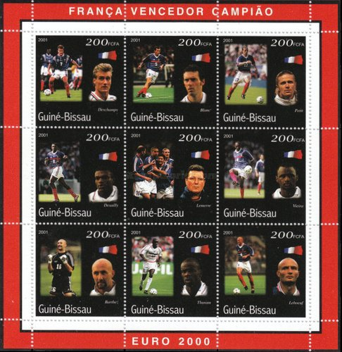 [France - European Football Champions 2000, Typ ]