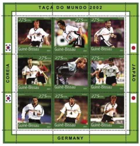 [Football World Cup - South Korea and Japan (2002) - Germany, Typ ]