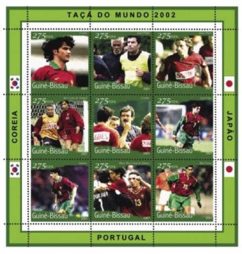 [Football World Cup - South Korea and Japan (2002) - Portugal, Typ ]