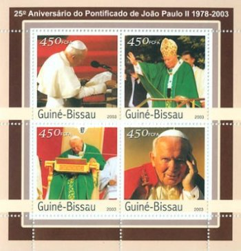 [The 25th Anniversary of the Pontificate of Pope John Paul II, type ]