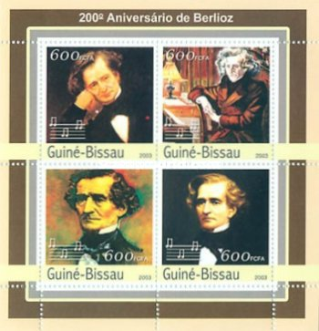 [The 200th Anniversary of the Birth of Hector Berlioz, 1803-1869, type ]