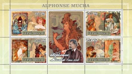 [Paintings - Alphonse Mucha, Typ ]