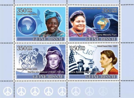 [Nobel Prize - Ladies Heroes of Peace I, Typ ]