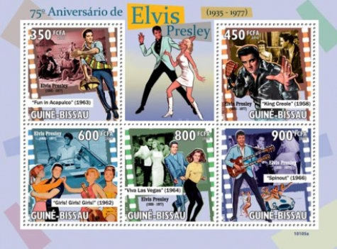 [The 75th Anniversary of the Birth of Elvis Presley, 1935-1977, Typ ]