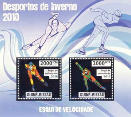 [Winter Olympic Games - Speed Skiing - Gold, type ]