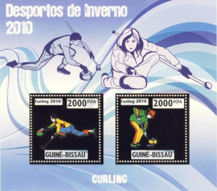 [Winter Olympic Games - Curling - Silver, type ]