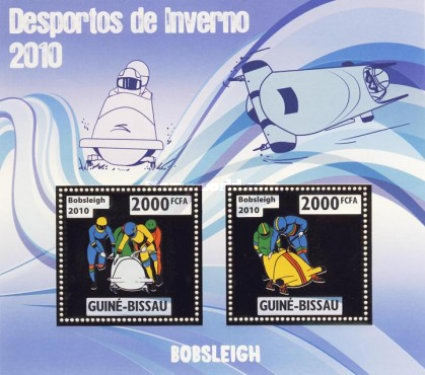 [Winter Olympic Games - Bobsleigh - Silver, type ]