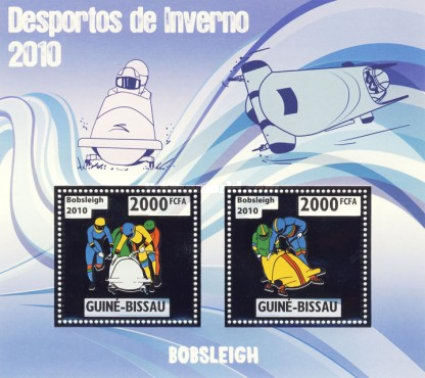 [Winter Olympic Games - Bobsleigh - Gold, type ]