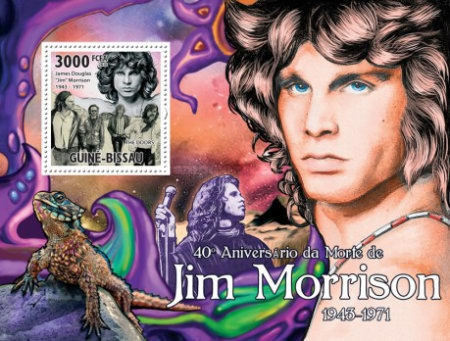 [The 40th Anniversary of the Death of Jim Morrison, Typ ]