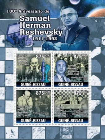 [Chess - The 100th Anniversary of the Birth of Samuel Herman Reshevsky, type ]