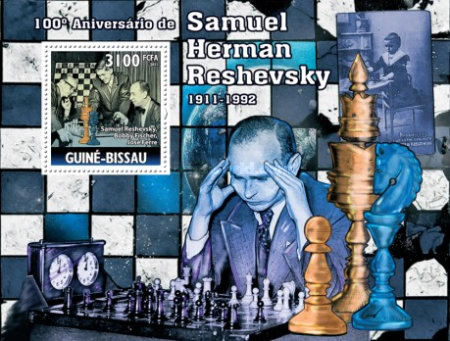 [Chess - The 100th Anniversary of the Birth of Samuel Herman Reshevsky, Typ ]