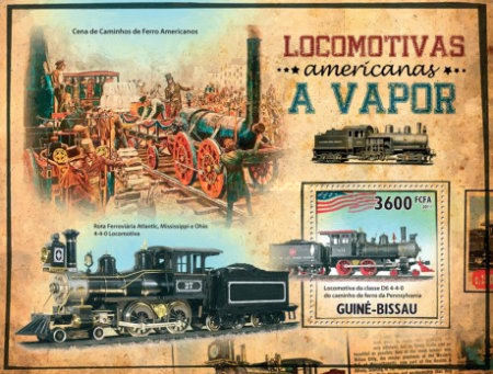 [Transport - Steam Locomotives of America, Typ ]