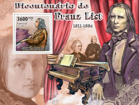 [Music - The Bicentennial of Franz List, 1811-1886, Typ ]