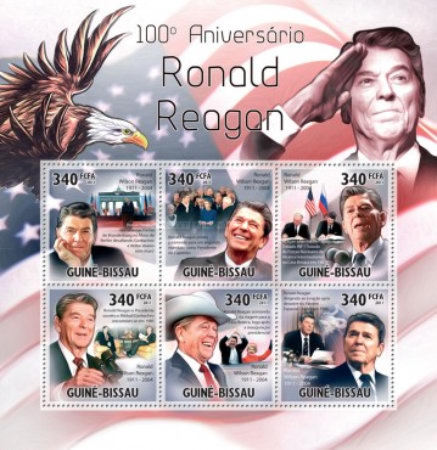 [The 100th Anniversary of Ronald Reagan, 1911-2004, Typ ]