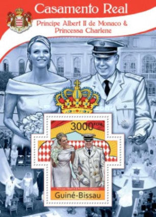 [Royal Wedding - Prince Albert II of Monaco & Princess Charlene, Typ ]