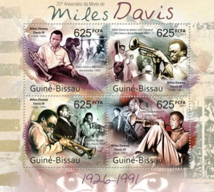 [The 20th Anniversary of the Death of Miles Davis, 1926-1991, Typ ]