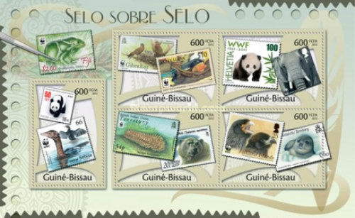 [WWF - Stamps on Stamps, Typ ]