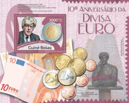 [The 10th Anniversary of the Euro Currency - Willem Frederic, 1935-2005, Typ ]