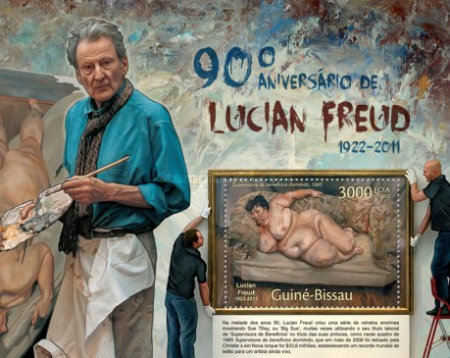 [The 90th Anniversary of the Birth Lucian Freud, Typ ]