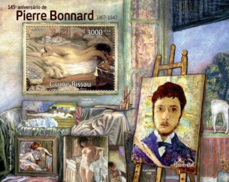 [The 145th Anniversary of Pierre Bonnard, 1867-1947, Typ ]