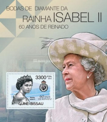[The 60th Anniversary of the Accesion of Queen Elizabeth II, Typ ]