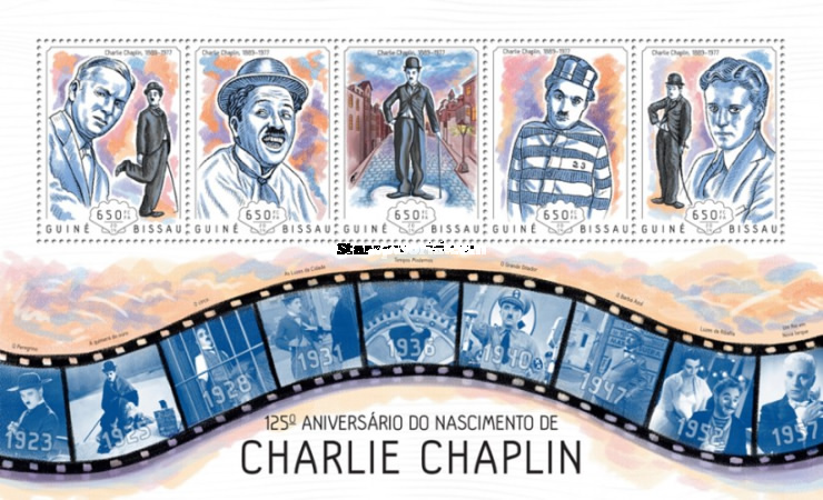 [The 125th Anniversary of the Birth of Charlie Chaplin, 1889-1977, Typ ]
