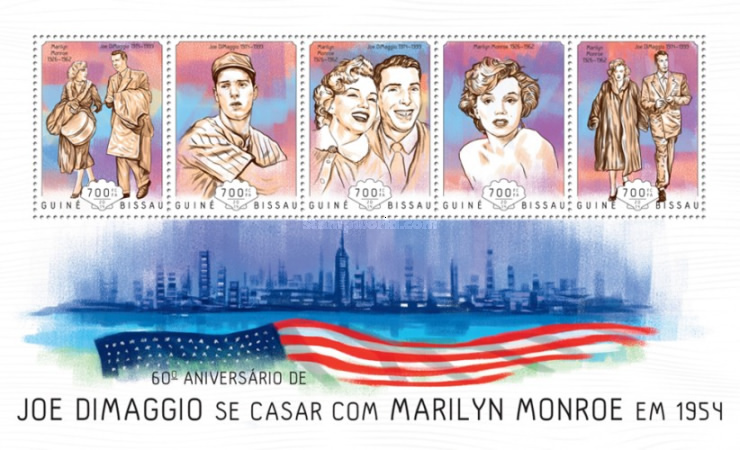 [The 60th Anniversary of the Wedding of Joe DiMaggio, 1914-1999 & Marilyn Monroe, 1926-1962, Typ ]