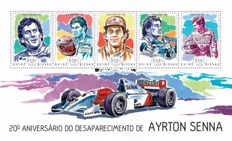 [The 20th Anniversary of the Death of Ayrton Senna, 1960-1994, Typ ]