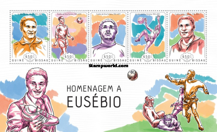 [Football - Tribute to Eusébio, 1942-2014, Typ ]