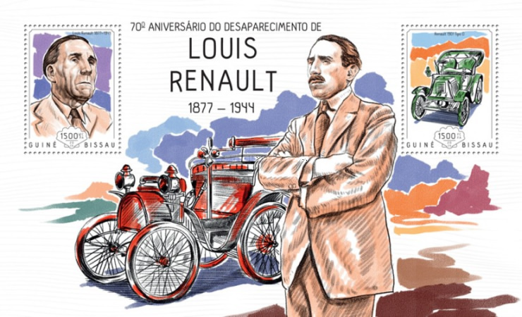 [The 70th Anniversary of the Death of Louis Reanault, 1877-1944, Typ ]