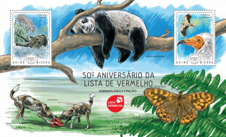 [Fauna - The 50th Anniversary of the Red List of Threatened Species, Typ ]