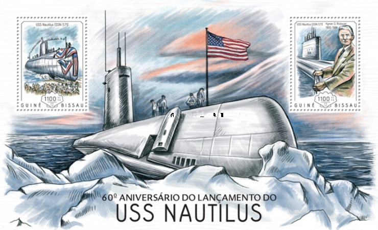 [Submarines - The 60th Annievrsary of USS Nautilus, Typ ]