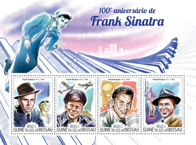 [The 100th Anniversary of the Birth of Frank Sinatra, 1915-1998, Typ ]