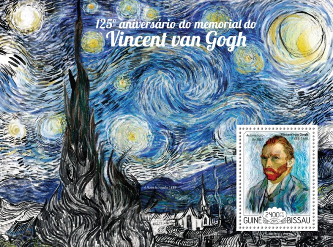 [The 125th Anniversary of the Death of Vincent van Gogh, 1853-1890, Typ ]