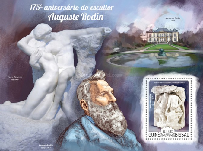 [The 175th Anniversary of the Birth of Auguste Rodin, 1840-1917, Typ ]