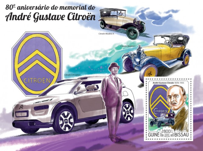 [The 80th Anniversary of the Death of Andre-Gustave Citroen, 1878-1935, Typ ]