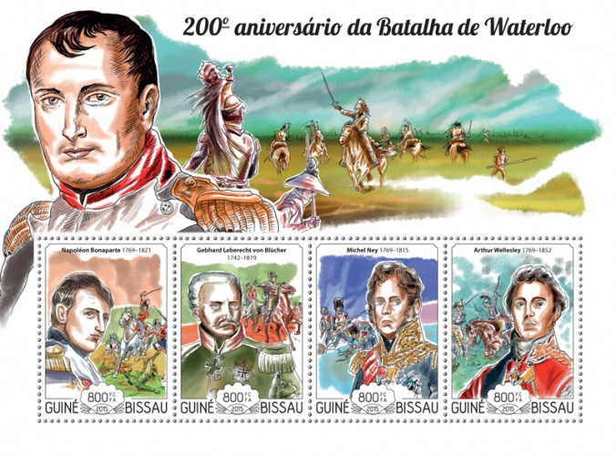 [The 200th Anniversary of the Battle of Waterloo, Typ ]